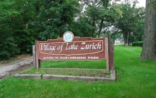 Kuechmann Park Entrance